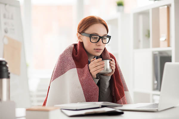 Kälte und Aufmerksamkeit