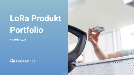 Produktportfolio LineMetrics