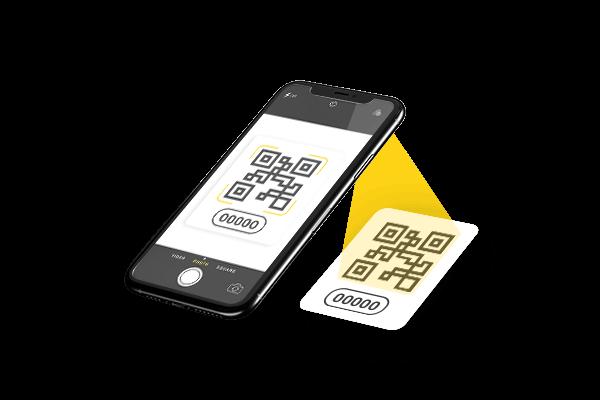 QR Code und LM-ID