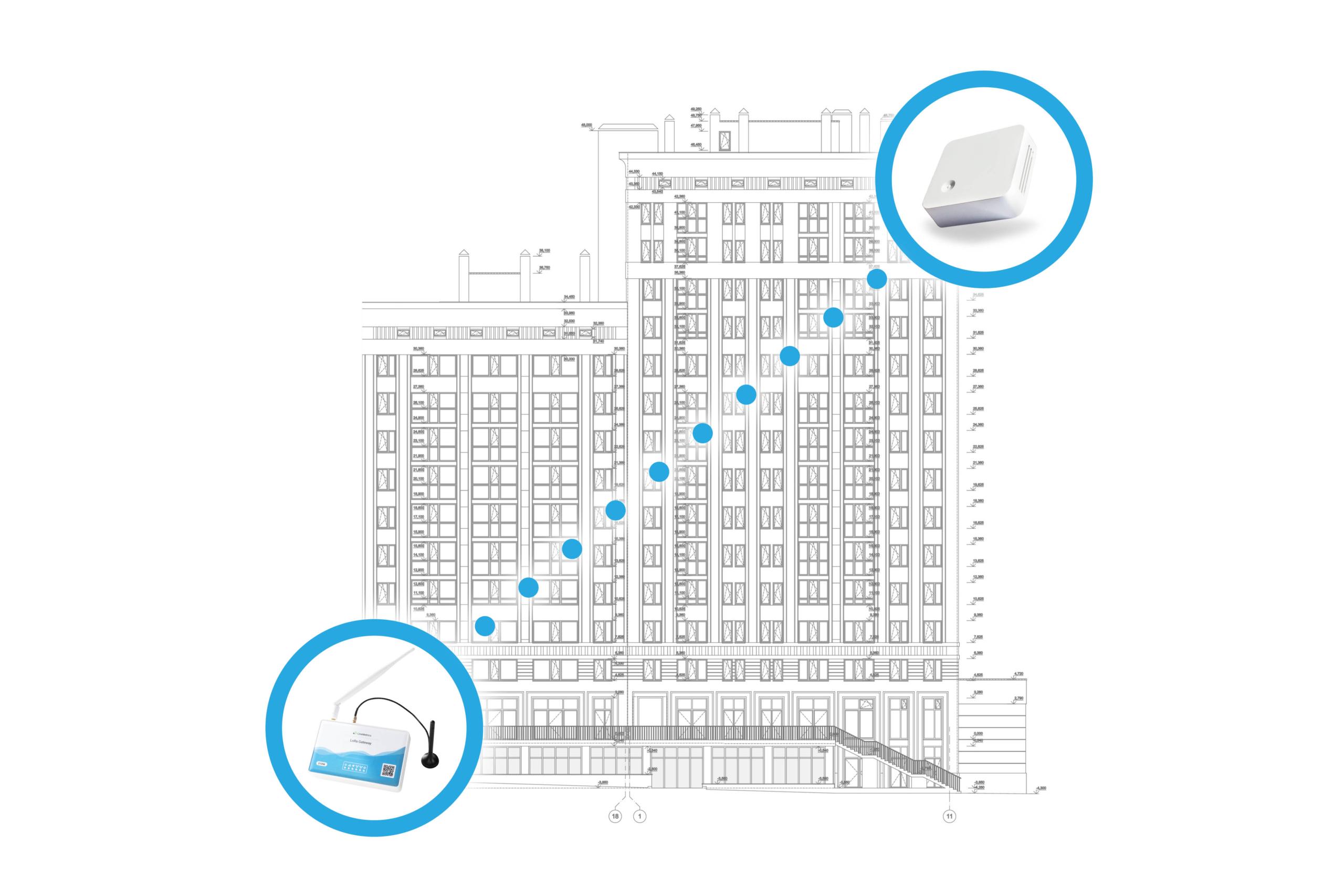 Maximale Gebäudedurchdringung